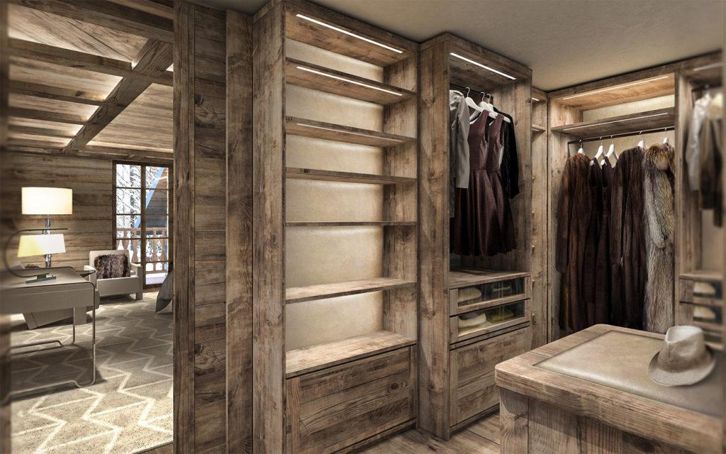 arredamento camera da letto cabina armadio