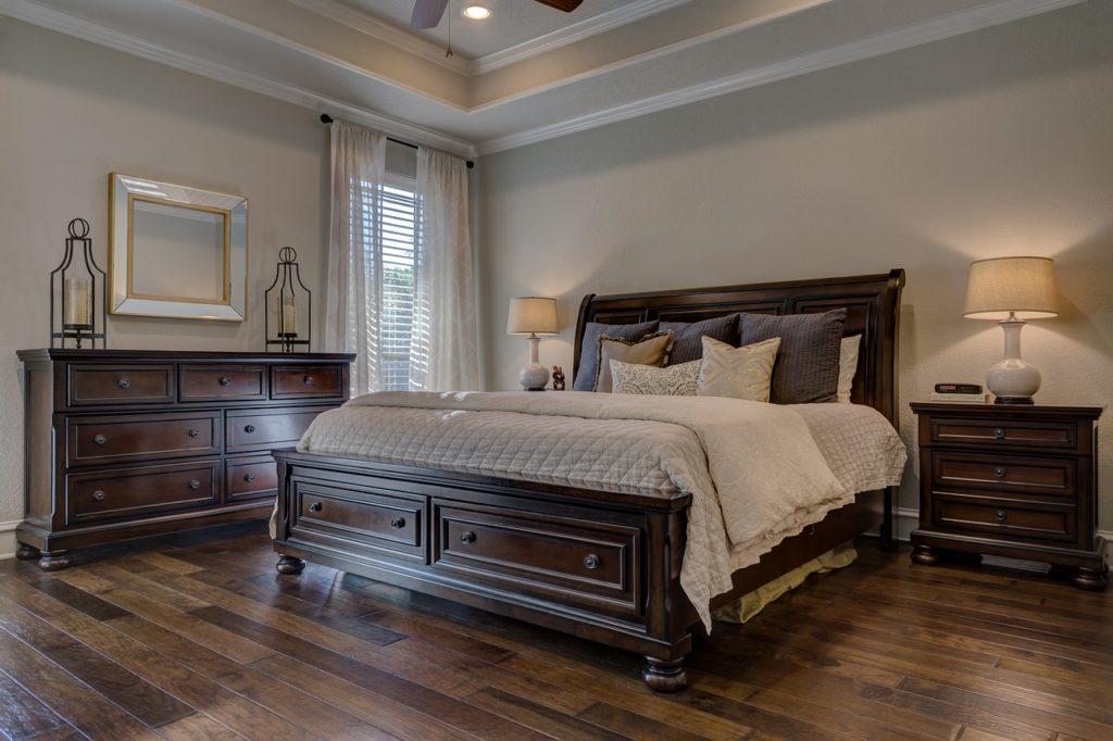 arredamento camera da letto country