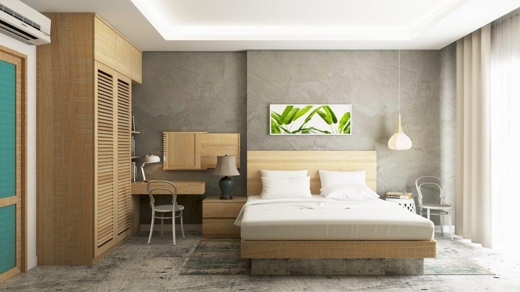 arredamento camera da letto stile scandinavo