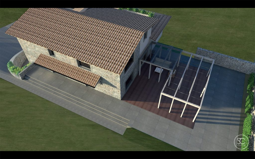 progettazione villa 1